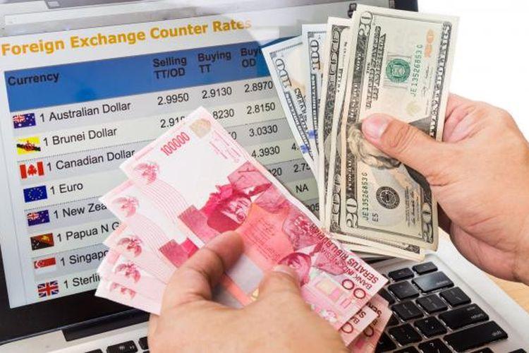 Kembali Melemah, Berikut Kurs Rupiah terhadap Dollar AS di 5 Bank Besar