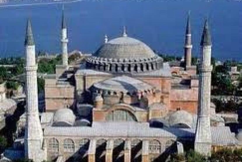 Turki Minta AS tak Ikut Campur Soal Status Hagia Sophia
